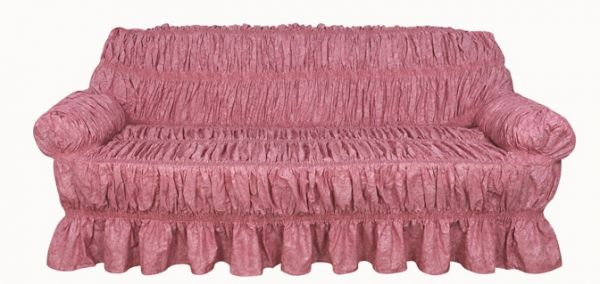 Sofa Cover 3 Seater Pink price review and in Dubai Abu