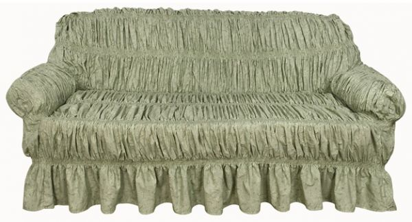 Sofa Cover 3 Seater Green price review and in Dubai Abu