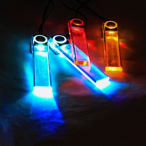 souq 4 in 1 12v car auto interior led atmosphere lights decoration lamp 7 color k774w uae. Black Bedroom Furniture Sets. Home Design Ideas