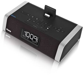 id50 ihome app enhanced bluetooth dual alarm stereo clock. Black Bedroom Furniture Sets. Home Design Ideas