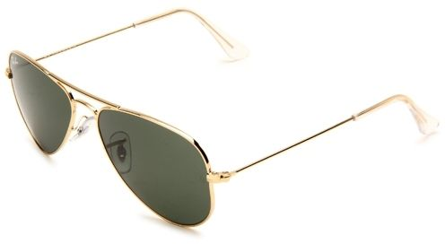 ray ban rb3044  RAY-BAN Aviator Small Metal RB3044 L0207 Arista Gold/G-15 Lens ...