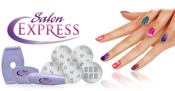 Salon express nail art stamping kit price review and buy in 1000 aed prinsesfo Images