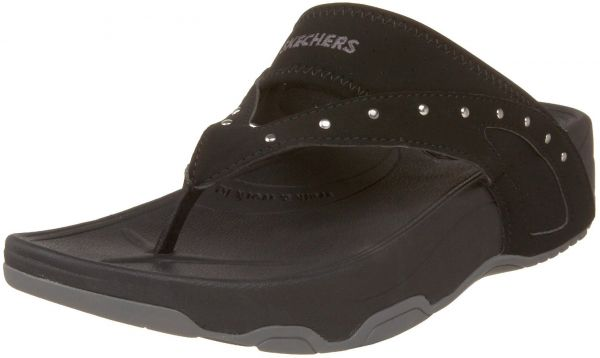 9089a21e1386 Skechers Tone Ups Glam Girl Flip Flop For Women