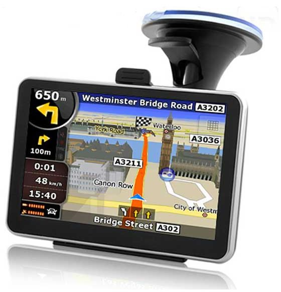 Inch Touch Screen Gps Navigation