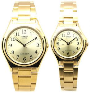 casio analog metal fashion in gold colour watch for men and women casio analog metal fashion in gold colour watch for men and women price review and buy in dubai abu dhabi and rest of united arab emirates souq com
