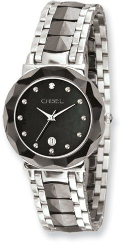 844eb4409cd36 Jewelry Adviser Chisel Watches TPW64 Mens Digital Stainless Steel ...