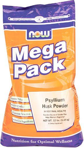 Now Foods Psyllium Husk Powder Bulk 12 Pound Bag السعودية سوق