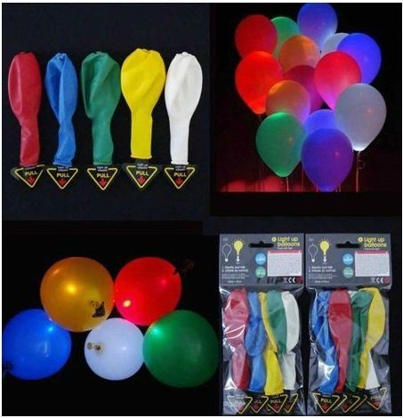 Light Up Balloons Multi Color Price Review And Buy In