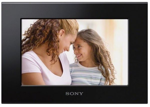 sony digital photo frame 7 inch black dpf c70a