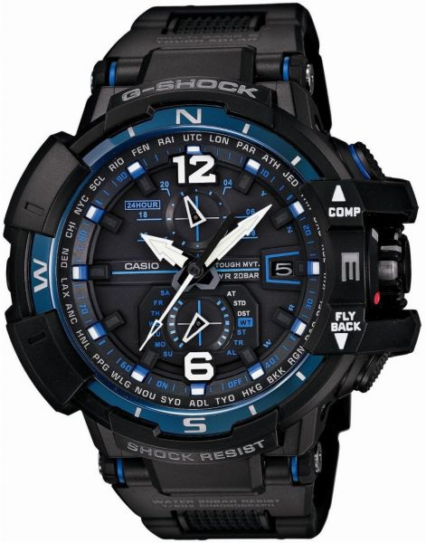 g shock watch for men by casio analog chronograph resin 2 789 00 aed