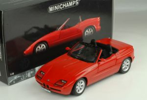 1 18 bmw z1 1988 red minichamps price review and buy in. Black Bedroom Furniture Sets. Home Design Ideas