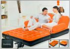 Automatic 5 in 1 Air Bed & Sofa - Super Soft & Comfortable (Neon Orange) (Chair)