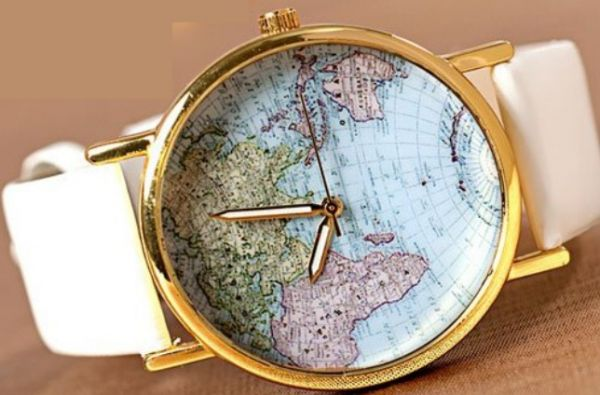 Buy world map watch watches uae souq this item is currently out of stock gumiabroncs Images