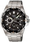 Casio Enticer for Men - Casual Stainless Steel Band Watch - MTD-1069D-1A (Watch)