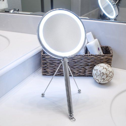Bathroom Mirror Uae led lighted makeup mirror vanity mirror hanging mirror and hand