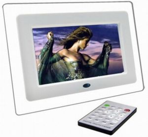 7 inch lcd tft multifunctional picture digital photo frame with mp3 mp4 player function - Electronic Picture Frame
