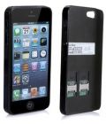 SocBlue A840 Dual SIM Adapter Transformer for Apple iPhone 5 (Mobile Phone Accessories)