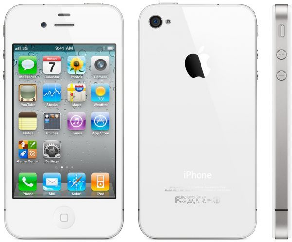 Apple iPhone 4S - 8GB, 3G + Wifi, White