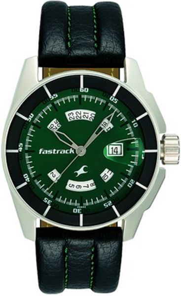 Buy Fastrack Green Magic Chronograph Gents Watch 3089SL03 ...