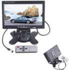 7 TFT LCD Digital Color Auto Car Rearview Headrest Monitor DVD Camera VCR (Car Video)