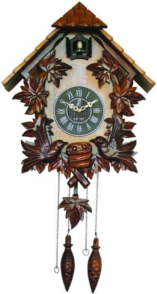 Wooden Cuckoo Clock Carved Style Wall Clock Mx206 Price