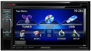 Kenwood 6 1-Inch Dual Din Monitor with DVD Receiver [DDX