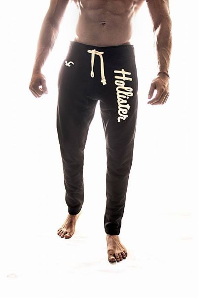 hollister black pants