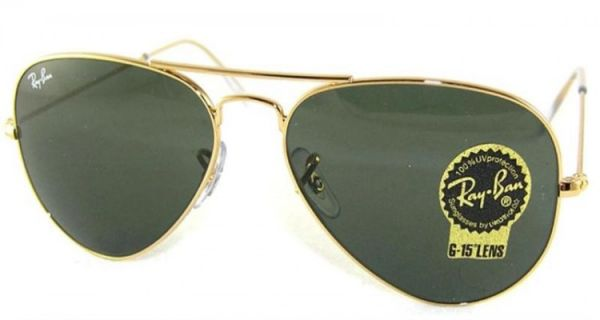 price ray ban aviator  RAY-BAN AVIATOR 3025 DARK BLACK GOLD SUNGLASSES FOR UNISEX, price ...