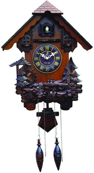 Wooden Cuckoo Clock Carved Style Wall Clock Price Review