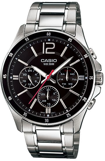 Watch for Men by Casio , Analog , Chronograph , Stainless ...
