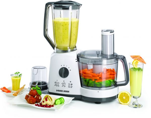 Black U0026 Decker 700W 41 Functions Food Processor, White   FX710 B5, Price,  Review And Buy In Dubai, Abu Dhabi And Rest Of United Arab Emirates |  Souq.com