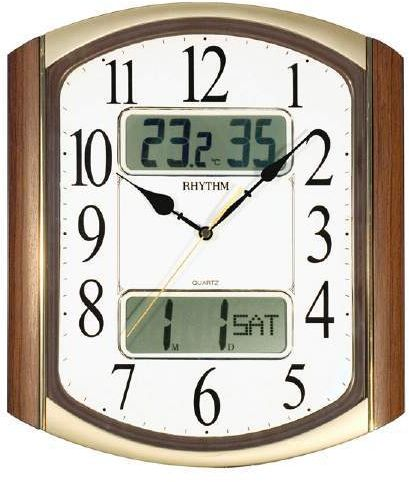 Rhythm CFG708NR06 Wall Clock price review and buy in Dubai Abu