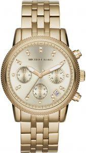 4c40264a57b0 Michael Kors Ritz Watch for Women - Analog Stainless Steel Band - MK5676