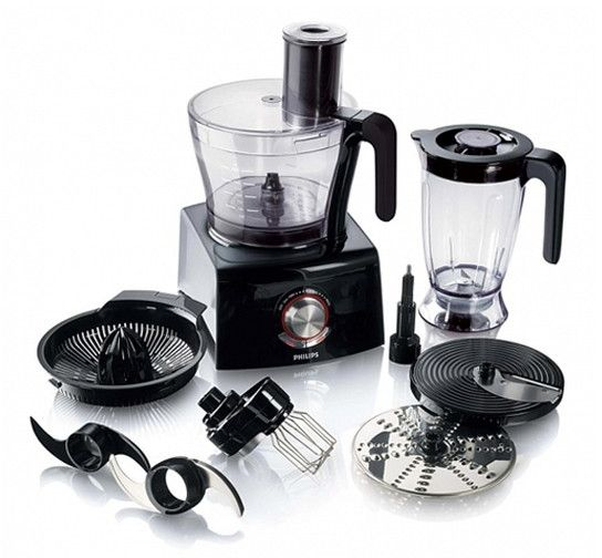 Philips Avance Collection Food Processor 1300W, Compact 3 in 1 setup, 3.4 L bowl - HR7776