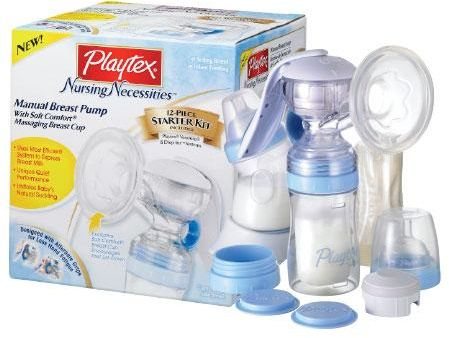 Electric pump: playtex double electric pump.