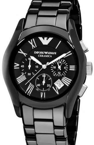 e19ae3ec4be06 Emporio Armani for Men Chronograph AR1400 Ceramic Watch | KSA | Souq