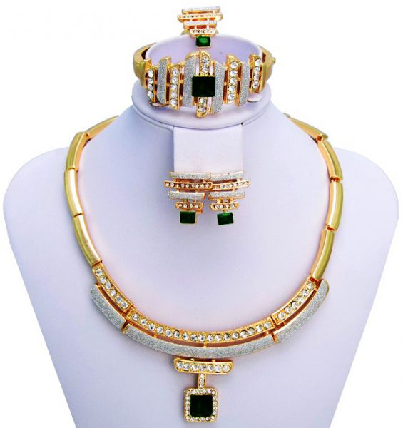 Buy 18k real gold plated austrian swarovski rhinestone for Is gold plated jewelry worth anything