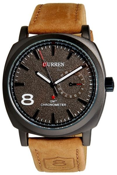 43ab96bfaec10 Curren for Men - Sports PU Leather Band Watch - 8139