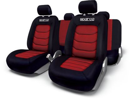 Sparco Seat Cover Set Polyester And Mesh
