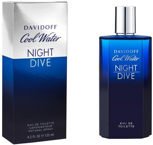 Cool Water Night Dive By Davidoff For Men Eau De Toilette 125ml