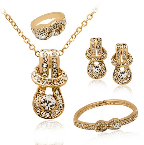 This item is currently out of stock  sc 1 st  Souq.com & Buy 18K Gold Plated Jewelry Set MM237 - Jewelry sets   UAE   Souq