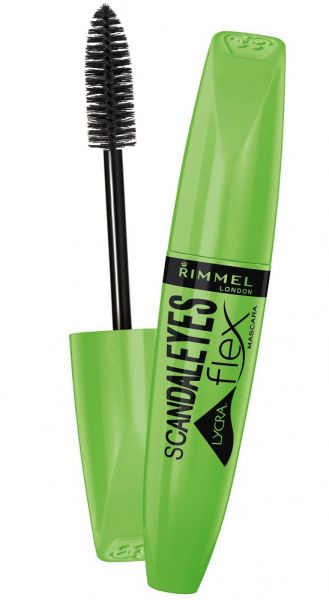 34a0b654d7c Rimmel London Scandaleyes Lycra Flex Mascara , 001 Black | KSA | Souq