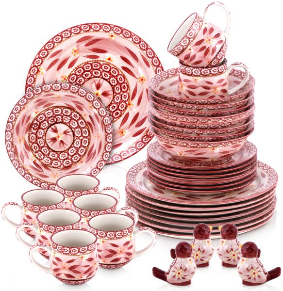 This item is currently out of stock  sc 1 st  Souq.com & Souq | Manal-Temptations 36 Piece Dinnerware Set Cranberry | UAE