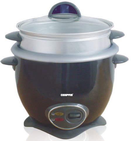 10f090b2a2a Geepas GRC1830 Rice Cooker IN Non-stick inner pot