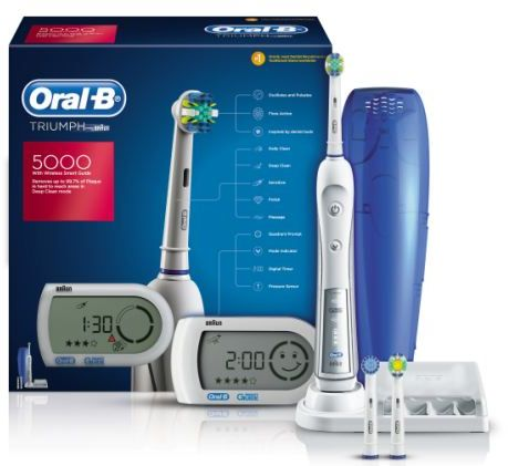 Braun Oral-B TRIUMPH 5000 - 3D Clean Wireless Smart guide fcddd687bafe0