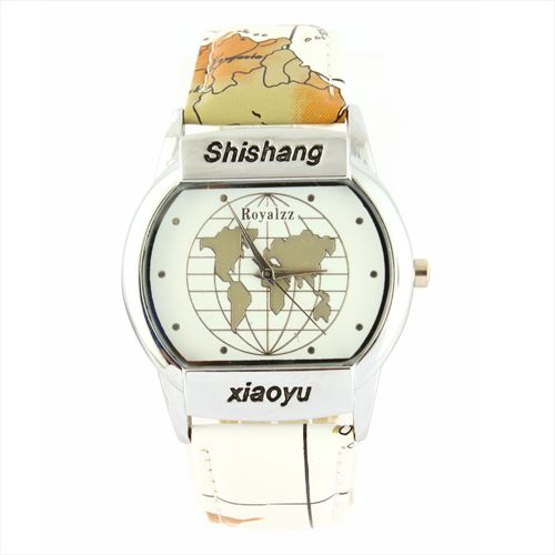 Buy shishang world map design watch 8098 watches uae souq this item is currently out of stock gumiabroncs Images
