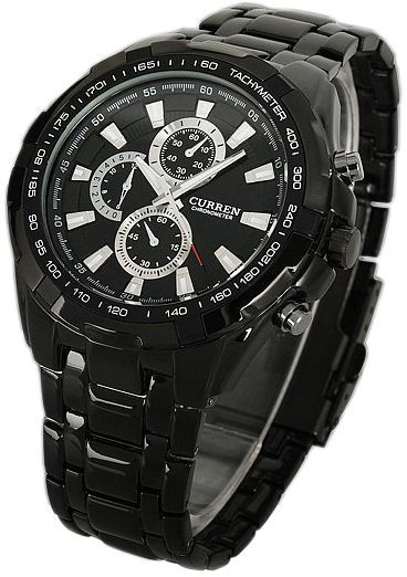 Buy Curren For Men Chronograph Stainless Steel Watch Watches Uae Souq