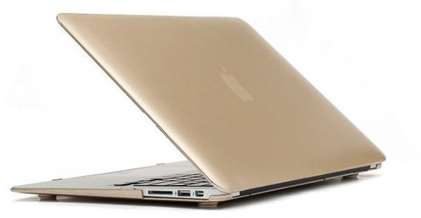 finest selection 40855 ad050 MacBook Pro 13.3 Matte hard laptop cover Shell Protective Case For Apple  laptop Macbook Pro 13-gold