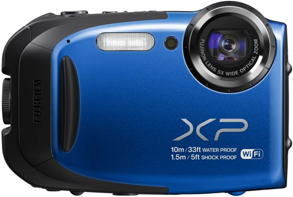 Fujifilm finepix action camera model xp70 blue souq uae