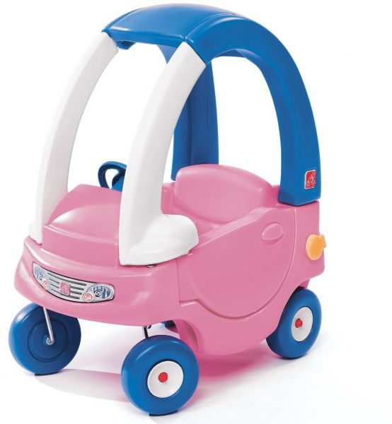 Step2 Toddle Tune Coupe Girls Ride On Toy [Blue and Pink ...